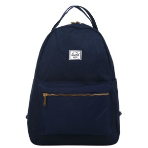 Herschel Sac à dos Nova Mid-Volume medievel blue crosshatch/medievel blue [ Promotion Black Friday Soldes ]
