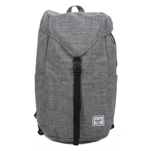 Herschel Sac à dos Thompson raven crosshatch [ Promotion Black Friday Soldes ]