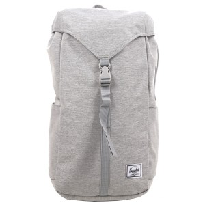 Herschel Sac à dos Thompson light grey crosshatch [ Promotion Black Friday Soldes ]