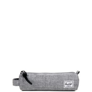 Herschel Trousse Settlement Case X-Small raven crosshatch [ Promotion Black Friday Soldes ]