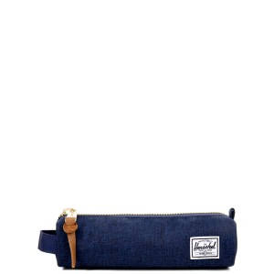 Herschel Trousse Settlement Case X-Small medievel blue crosshatch/medievel blue [ Promotion Black Friday Soldes ]