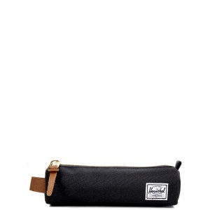 Herschel Trousse Settlement Case X-Small black/saddle brown | Pas Cher Jusqu'à 20% - 80%