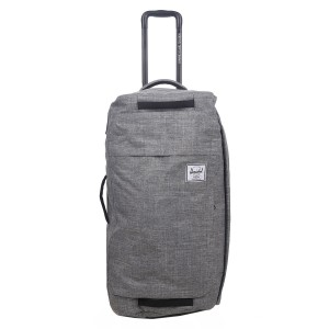 Herschel Sac de voyage Wheelie Outfitter 74 cm raven crosshatch [ Promotion Black Friday Soldes ]