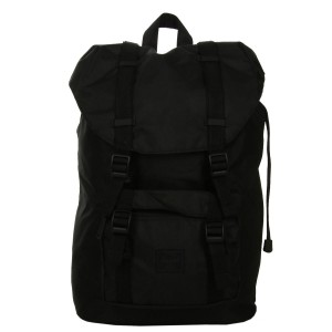 Herschel Sac à dos Little America Mid-Volume Light black [ Promotion Black Friday Soldes ]