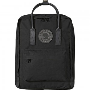 FJALLRAVEN Kånken No.2 Mini - Sac à dos - with black handles noir Noir [ Promotion Black Friday Soldes ]