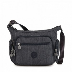 Kipling Petit sac bandoulière à compartiments multiples Active Denim