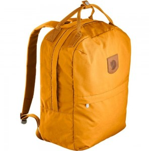 FJALLRAVEN Greenland Zip - Sac à dos - Large jaune Jaune [ Promotion Black Friday Soldes ]