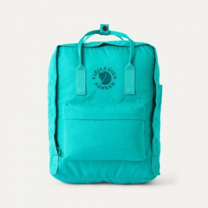 FJALLRAVEN Sac à dos RE-KÅNKEN 16L Vert D'Eau [ Promotion Black Friday Soldes ]