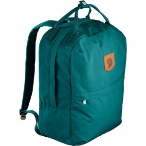 FJALLRAVEN Greenland Zip - Sac à dos - Large Bleu pétrole Bleu Pétrole [ Promotion Black Friday Soldes ]