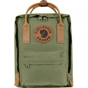 FJALLRAVEN Kånken No.2 Mini - Sac à dos - vert/olive Vert [ Promotion Black Friday Soldes ]