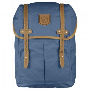 FJALLRAVEN No. 21 - Sac à dos - Medium bleu Bleu [ Promotion Black Friday Soldes ]
