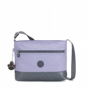 Kipling Medium crossbody Active Lilac Cb