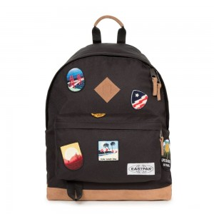 Eastpak Wyoming Into Patch Black [ Promotion Black Friday Soldes ]