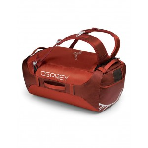 Osprey Sac Duffel - Transporter 65 Ruffian Red - Marque [ Promotion Black Friday Soldes ]