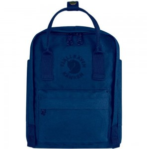 FJALLRAVEN Re-Kånken Mini - Sac à dos - bleu Bleu [ Promotion Black Friday Soldes ]
