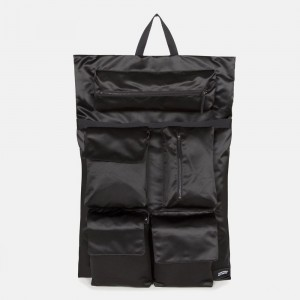 Eastpak Raf Simons Poster Backpack Satin Couple Fuchsia [ Promotion Black Friday Soldes ]