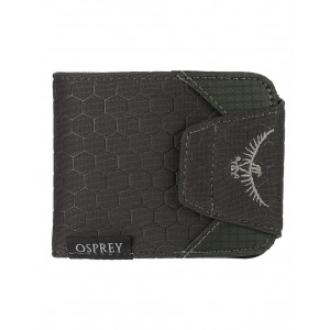 Osprey Portefeuille RFID - Quicklock RFID Wallet Shadow Grey [ Promotion Black Friday Soldes ]