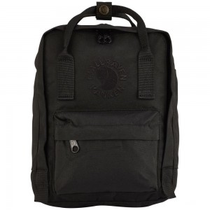 FJALLRAVEN Re-Kånken Mini - Sac à dos - noir Noir [ Promotion Black Friday Soldes ]
