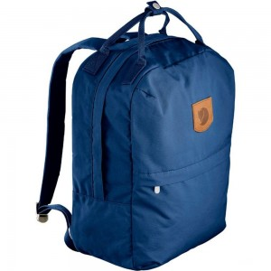 FJALLRAVEN Greenland Zip - Sac à dos - Large bleu Bleu [ Promotion Black Friday Soldes ]
