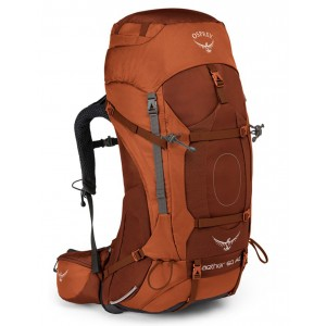 Osprey Sac à dos de trekking - Aether AG 60 Outback Orange - Marque [ Promotion Black Friday Soldes ]