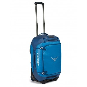 Osprey Sac de voyage à roulettes - Rolling Transporter 40 Kingfisher Blue [ Promotion Black Friday Soldes ]