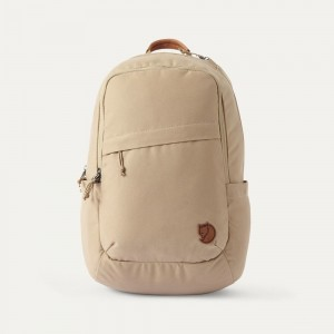 FJALLRAVEN Sac à dos RAVEN 20L poche ordinateur Beige [ Promotion Black Friday Soldes ]
