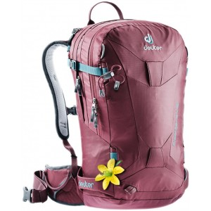 Deuter Sac à Dos de Ski/Snowboard - Femme - Freerider 24 SL Bordeaux [ Promotion Black Friday Soldes ]
