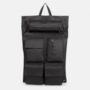 Eastpak Raf Simons Poster Backpack Cotton Punk White [ Promotion Black Friday Soldes ]