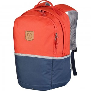 FJALLRAVEN High Coast - Sac à dos Enfant - orange/bleu Orange [ Promotion Black Friday Soldes ]