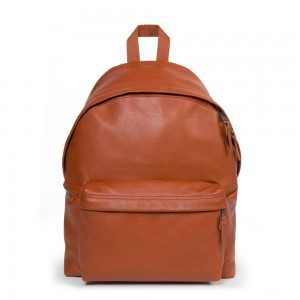 Eastpak Padded Pak'r® Cognac Leather [ Promotion Black Friday Soldes ]