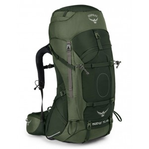 Osprey Sac de trekking homme - Aether AG 70 Adirondack Green - Marque [ Promotion Black Friday Soldes ]