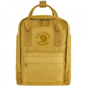 FJALLRAVEN Re-Kånken Mini - Sac à dos - jaune Jaune [ Promotion Black Friday Soldes ]