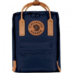 FJALLRAVEN Kånken No.2 Mini - Sac à dos - bleu Bleu [ Promotion Black Friday Soldes ]