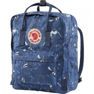 FJALLRAVEN Kånken Art - Sac à dos - bleu Bleu [ Promotion Black Friday Soldes ]