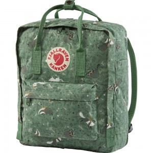 FJALLRAVEN Kånken Art - Sac à dos - vert Vert [ Promotion Black Friday Soldes ]