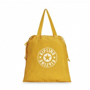 Kipling Sac Cabas Déperlant Lively Yellow
