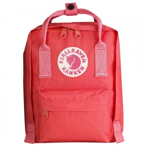 FJALLRAVEN Kånken - Sac à dos Enfant - rose/rouge Rouge [ Promotion Black Friday Soldes ]