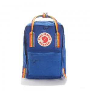 FJALLRAVEN Sac à dos mini KANKEN RAINBOW MINI Bleu [ Promotion Black Friday Soldes ]