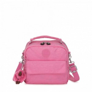 Kipling Small handbag (convertible to backpack) Posey Pink