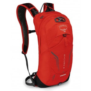 Osprey Sac de Vélo Homme - Syncro 5 Firebelly Red [ Promotion Black Friday Soldes ]