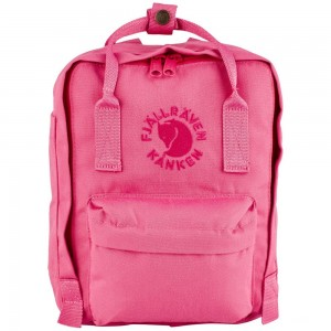 FJALLRAVEN Re-Kanken - Sac à dos mini - rose Rose [ Promotion Black Friday Soldes ]