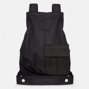 Eastpak Raf Simons Coat Bag Black Structured [ Promotion Black Friday Soldes ]