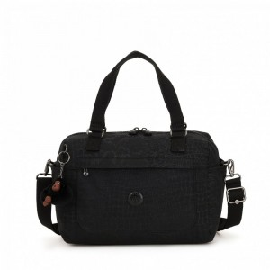 Kipling Small shoulderbag (with removable shoulderstrap) Blkcrocel