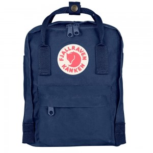 FJALLRAVEN Kånken Mini - Sac à dos - bleu Bleu [ Promotion Black Friday Soldes ]