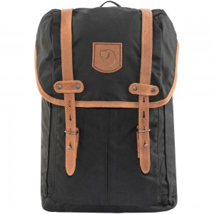 FJALLRAVEN No. 21 - Sac à dos - Small noir Noir [ Promotion Black Friday Soldes ]