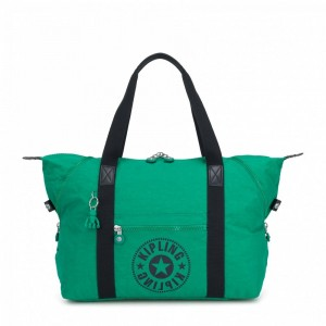 Kipling Sac Cabas Medium avec 2 Poches Frontales Lively Green