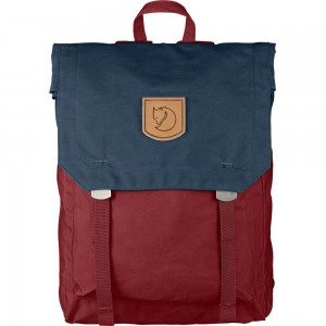 FJALLRAVEN No.1 - Sac à dos - rouge/bleu Rouge [ Promotion Black Friday Soldes ]