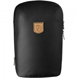 FJALLRAVEN Kiruna - Sac à dos - Small noir Noir [ Promotion Black Friday Soldes ]