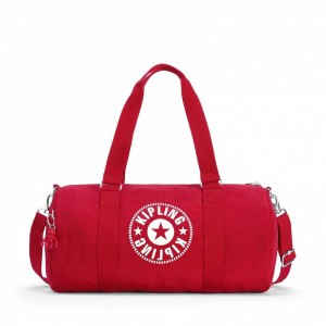 Kipling Sac Polochon Polyvalent Lively Red