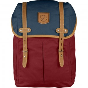 FJALLRAVEN No. 21 - Sac à dos - Medium rouge/bleu Rouge [ Promotion Black Friday Soldes ]